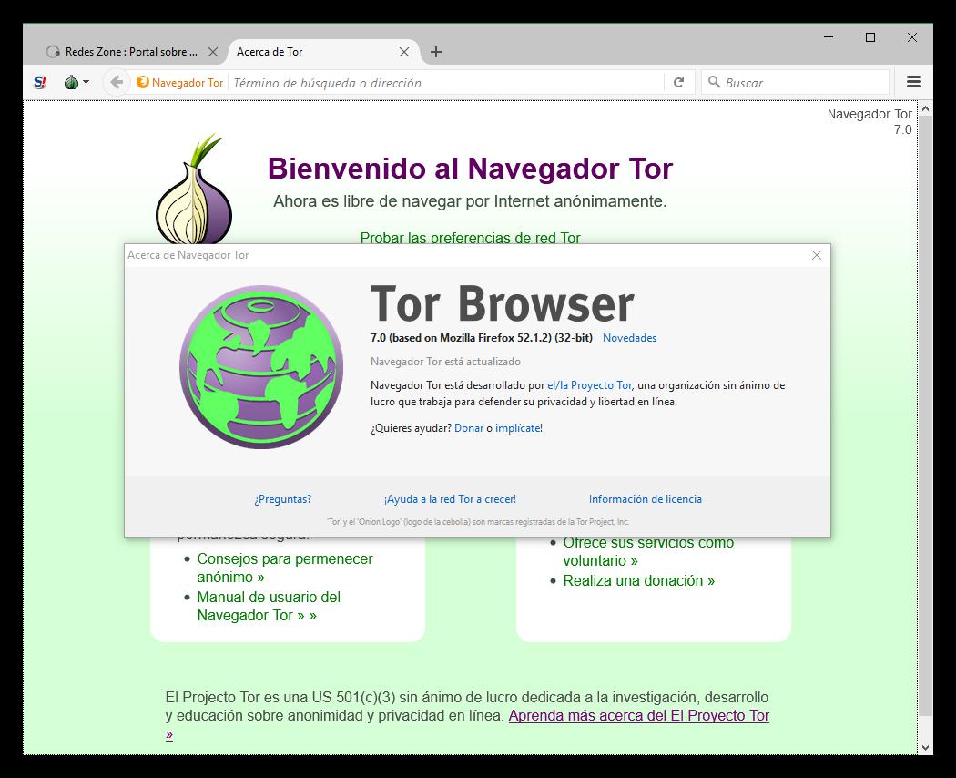 Tor - Navegador
